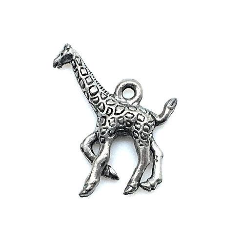 Giraffe Charm • 19x18mm • 26100MTL-G1918-12 | SmokyMountainBeads.com