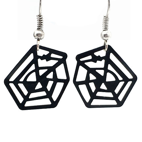 Spider Web Filigree Earrings • ER05-1919-EN-WEB | SmokyMountainBeads.com