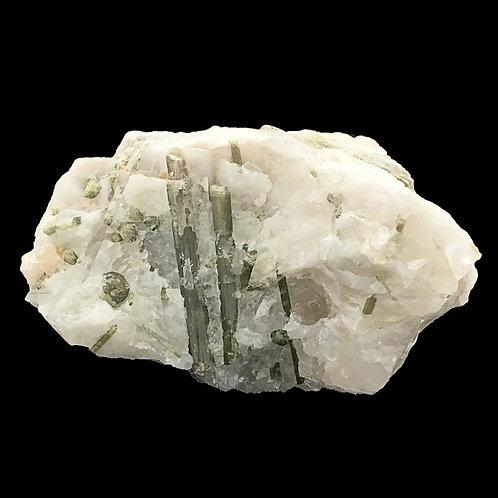 Green Tourmaline Rough • Brazil • 249.8 grams ~ 65x63x47mm
