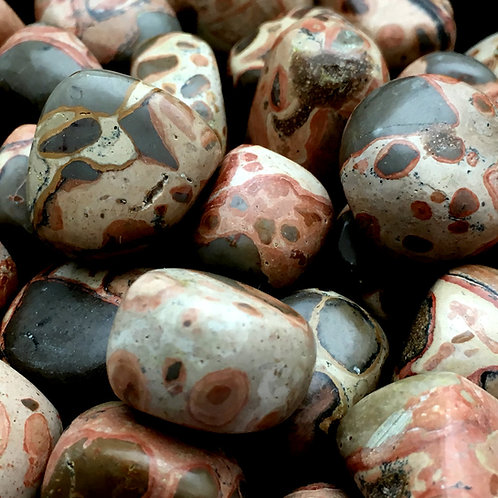 Leopardite Tumbles • Peru • Medium