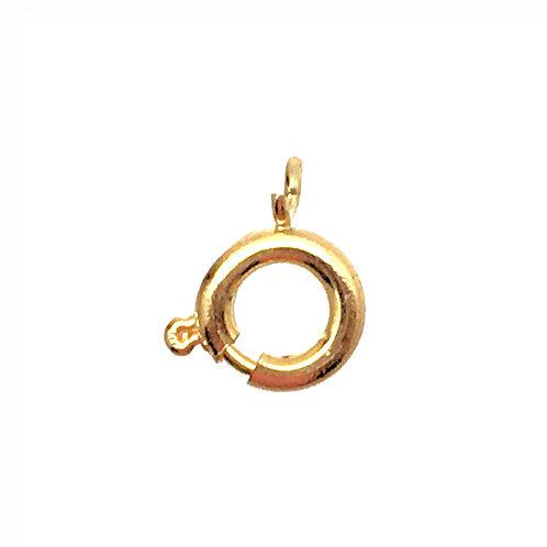 Spring Ring Clasp  • 7mm • 44SR-1007-25 | SmokyMountainBeads.com
