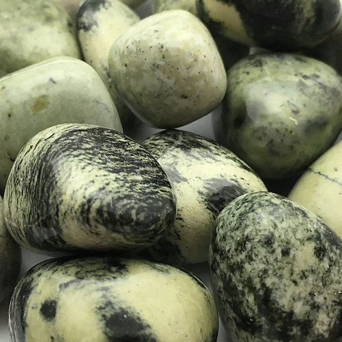 Chytha (Serpentine/Jade) Tumbled • China • Large