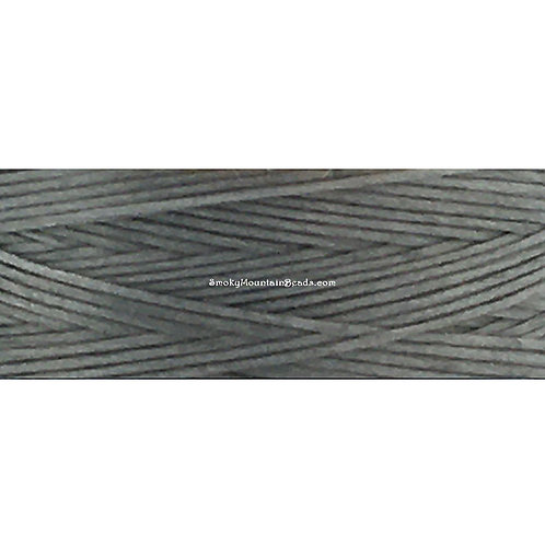 Grey • Nymo® Nylon Thread • Size D | SmokyMountainBeads.com