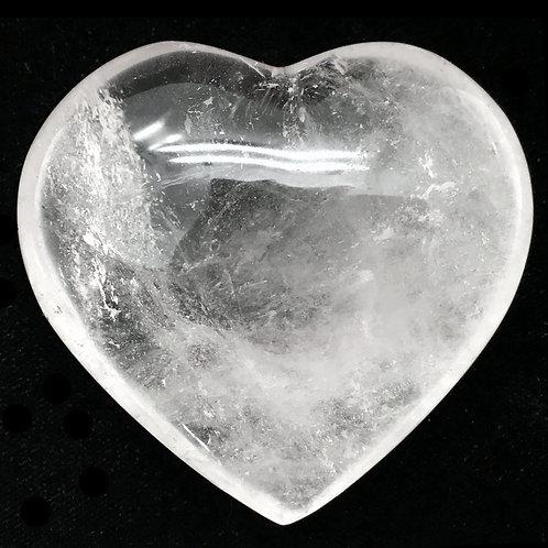 Quartz Heart • Madagascar • 218.6 grams ~ 73x68x34mm