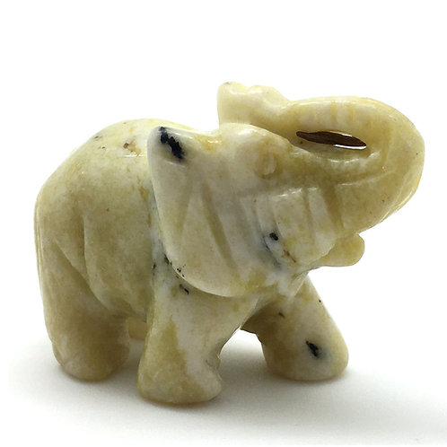 Serpentine Elephant • Brazil •  53.1 grams ~ 50x25x36mm