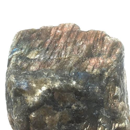 Labradorite Rough • Brazil • 289.9 grams ~ 84x72x60mm