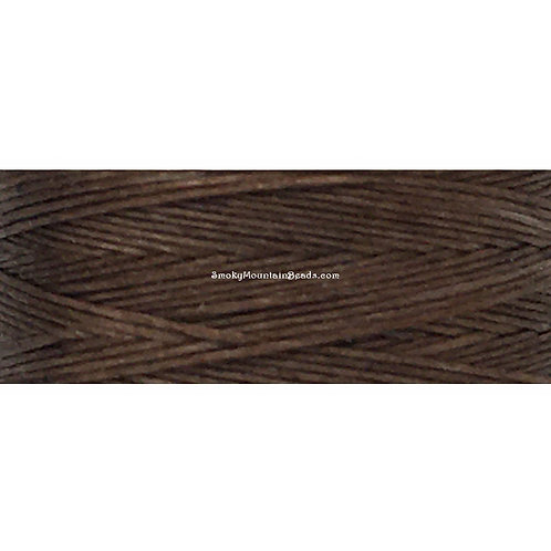 Brown • Nymo® Nylon Thread • Size D | SmokyMountainBeads.com