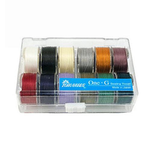 Toho One-G 12-Color Assortment • Case 2 | SmokyMountainBeads.com