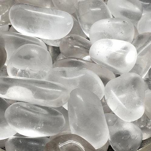 Quartz Crystal Tumbles • Brazil • Small