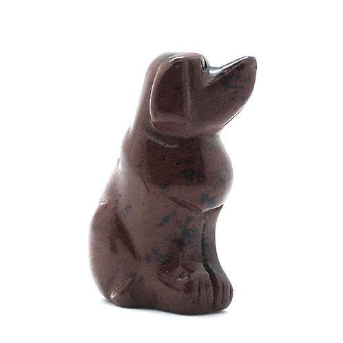Mahogany Obsidian Dog • Mexico • 49.1 grams ~ 51x34x23mm