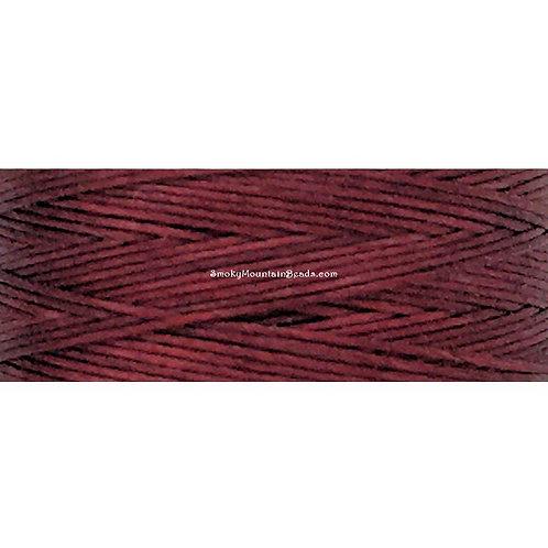 Burgundy • Nymo® Nylon Thread • Size D   SmokyMountainBeads.com