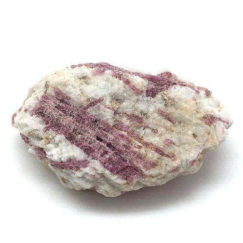 Rubellite Pink Tourmaline Rough • Brazil • 26.8 grams ~ 37x35x21mm