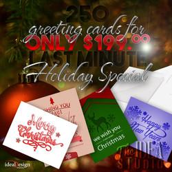 Holiday Card Ad