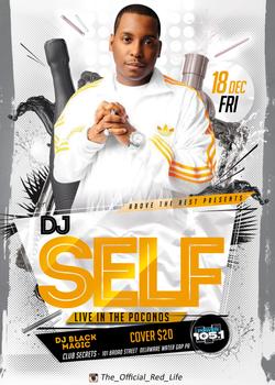 dj-self poster