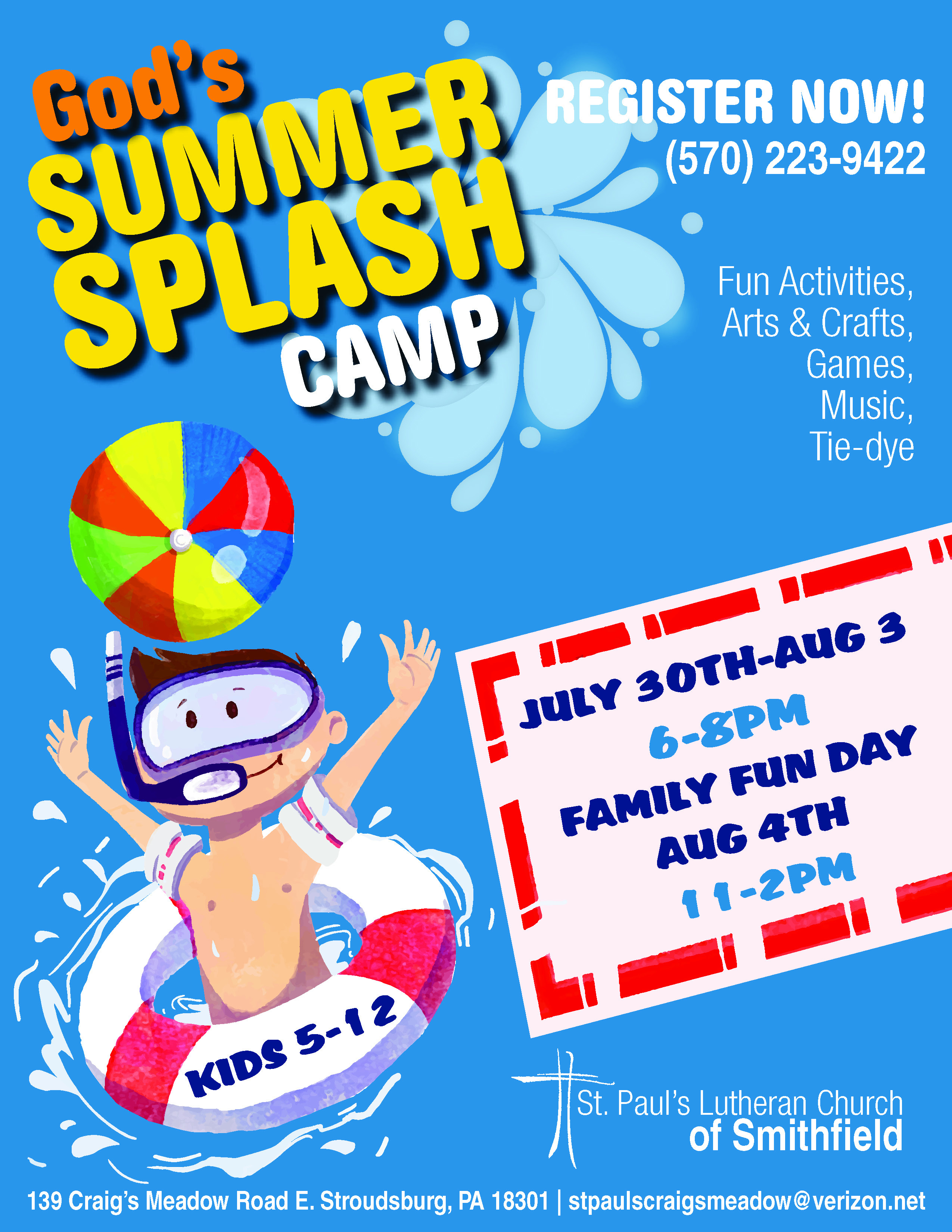 Splash Summer Flier
