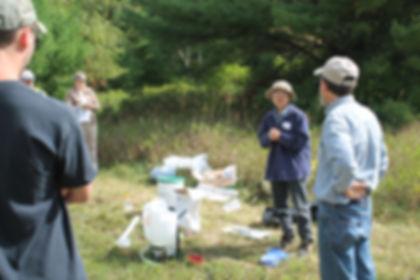 DNR Forest Health Pathologist Kyoko Scan