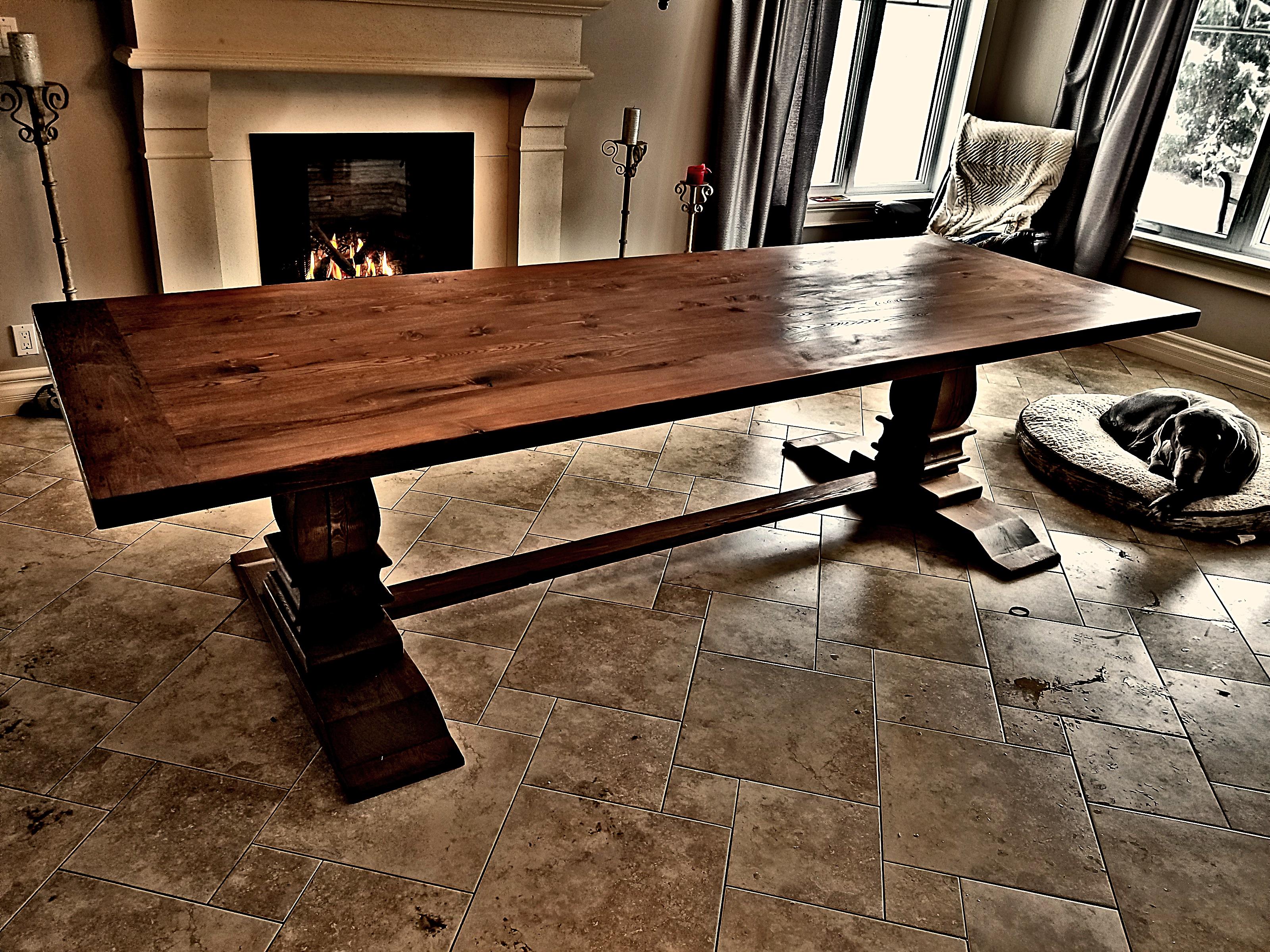 Meuble bois massif sur mesure québec rustik meubles design