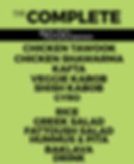 Yala Kol's COMPLETE Catering Option