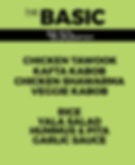 Yala Kol's BASIC Catering Option