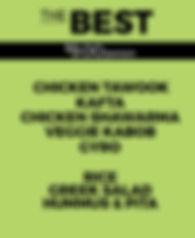 Yala Kol's BEST Catering Option