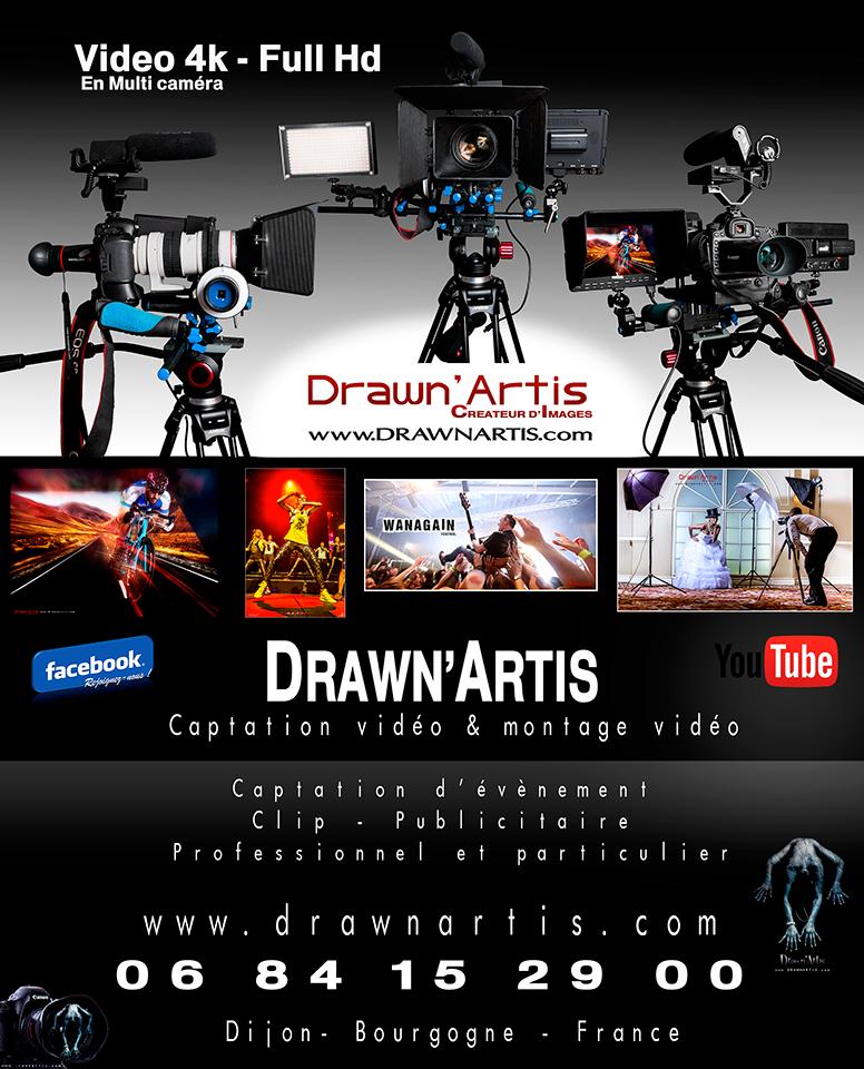 Drawn'Artis Vidéo Dijon