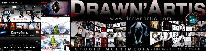 Drawn'Artis Studio Multimédia - Production audiovisuelle - Réalisation clip vidéo - Graphiste - Photographe - Communication audiovisuelle - Dijon - Bourgogne - France