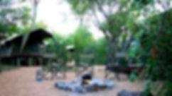 Tented safari camp