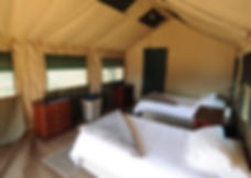 Tented camp, selati game reserve