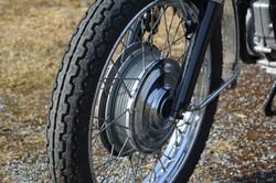 BSA framhjul