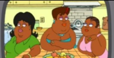 """""""Family Guy"""" – Mm-hm Sisters"""