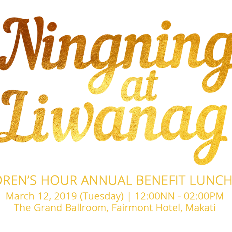 Annual Benefit Lunch 2019: Ningning at Liwanag