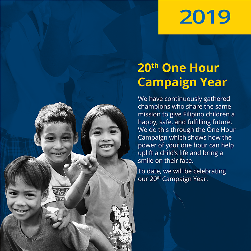 20th One Hour Campaign Year