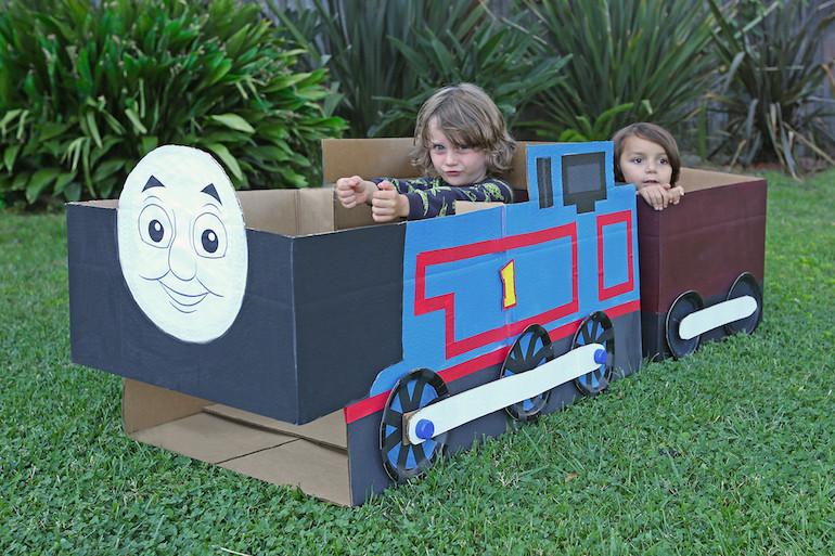 cardboard box craft ideas for kids