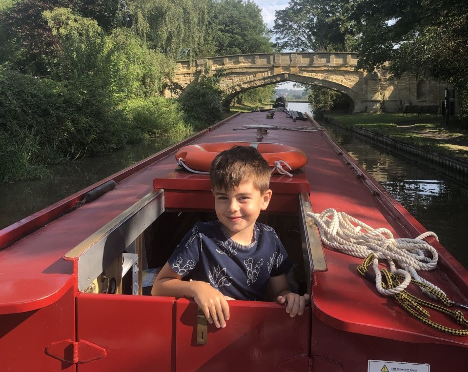 Narrowboating with kids