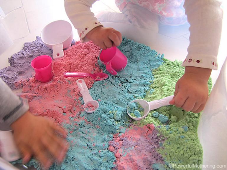 sensory play ideas for kids