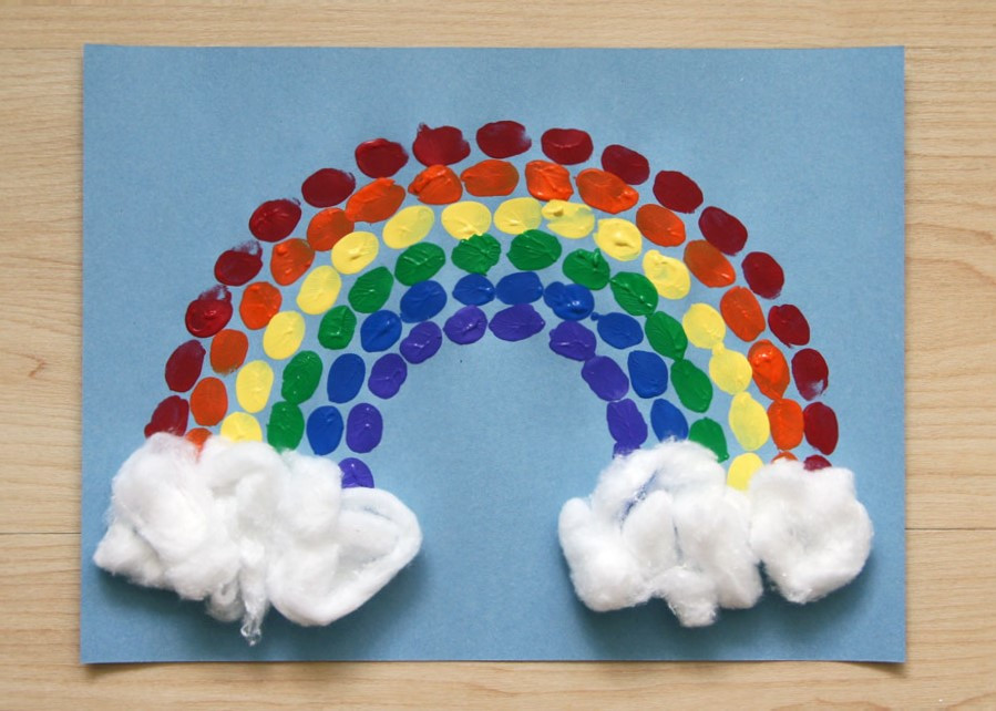 Pride month: rainbow craft ideas for children