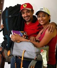 Suchna Hegde & Yogi Shah
