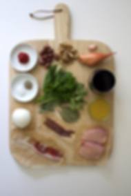Chicken Cacciatore Ballotine Ingredients