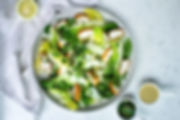Milanese Chicken Caesar Salad with Gremolata