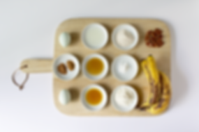 Healthy Banana Bread Ingredients