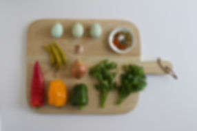 Three Pepper Shakshuka Ingredients