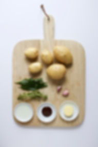 Marmite Potato Ingredients Board