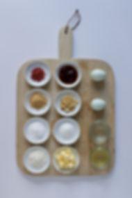 PB & J Bakewell Tart Ingredients