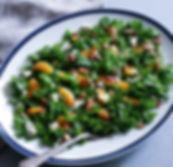 Kale, Clementine, Stilton Salad