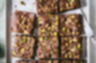 Halva & Pistachio Brownies Above.jpg