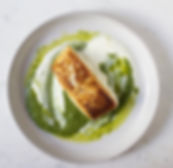 Halibut with Nettle Pesto