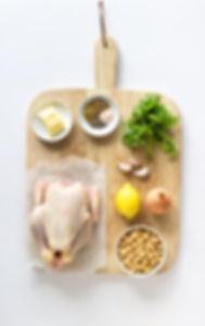 Roast Chicken with Chickpeas Ingredients