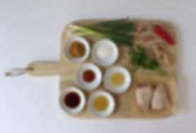 Sweet Thai Chicken Thighs Ingredients