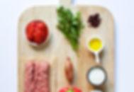 Lamb Kofte with Smokey Pepper Sauce Ingredients