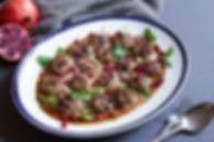 Lamb Kofte with Smokey Pepper Sauce
